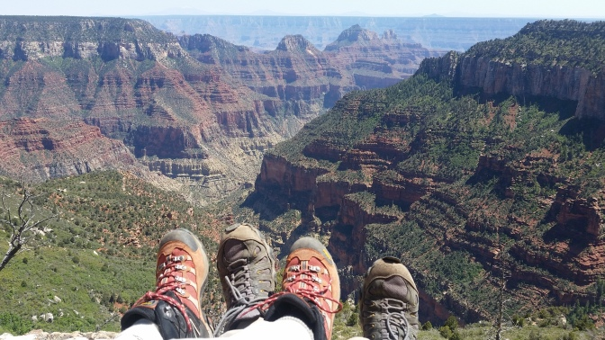 Feet over the Canyon