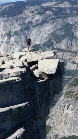 sean-on-edge-of-half-dome