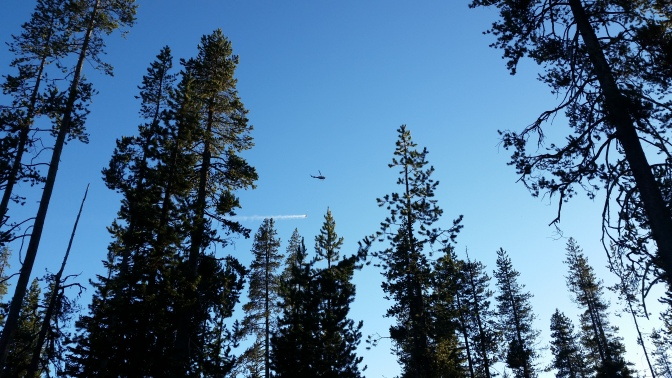 Helicopter over the campsite.jpg