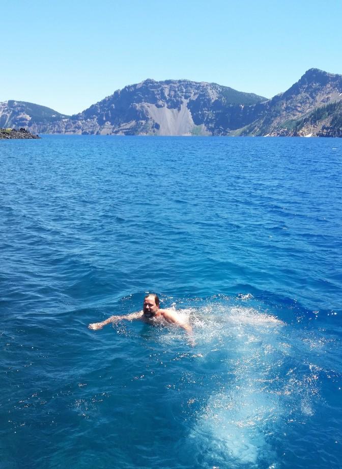 sean-swimming-in-crater-lake