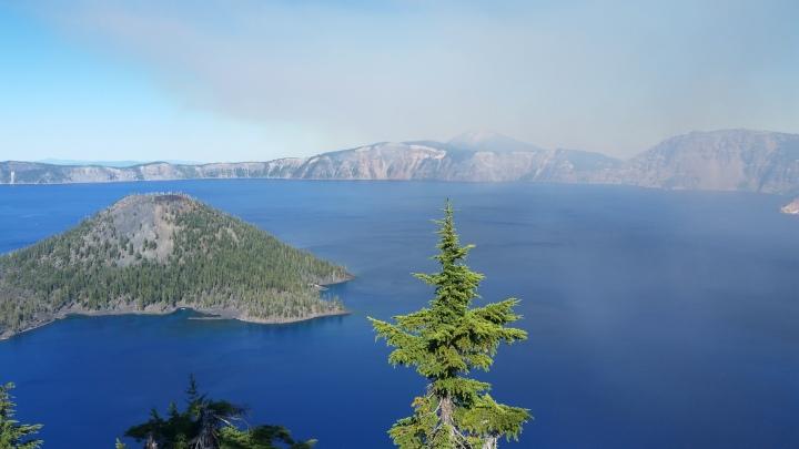 Crater Lake Wizard Island Finneganhiatusadventures